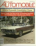 img - for Collectible Automobile Magazine, October 1998, Volume 15 Number 3 book / textbook / text book