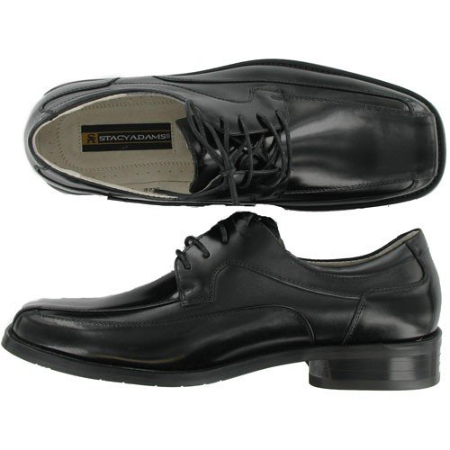 Stacy Adams Men's Collin Black phil collin but seriously 2 lp