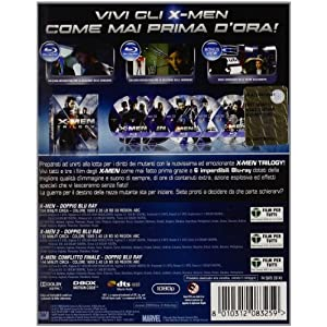 X-men - Trilogy [Blu-ray] [Import italien]
