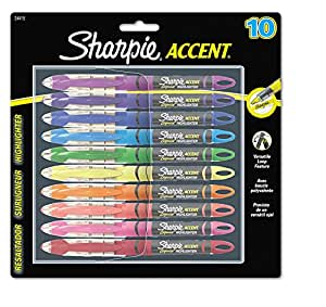SAN24415PP - Sharpie Accent Liquid Pen Style Highlighter