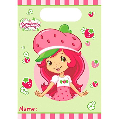 American Greetings Strawberry Shortcake Treat Bags (8 Count)