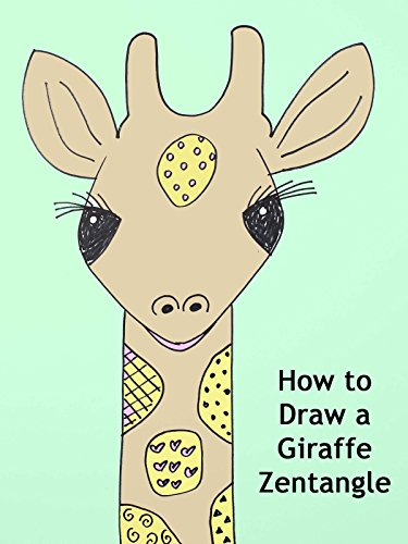 How to Draw a Giraffe Zentangle on Amazon Prime Instant Video UK