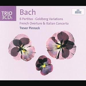 les 6 partitas, variations goldberg, ouverture française, concerto italien