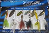 12 LUNKER Inline Spinners baits Fishing lures NIP