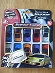 Toy Cars - 10 PACK. Die Cast Metal Su...