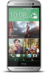 HTC One M8 - Factory Unlocked 32GB - US Warranty (Glacial Silver)