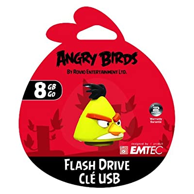 EMTEC Angry Birds A102 8GB USB 2.0, Yellow Bird (EKMMD8GA102)