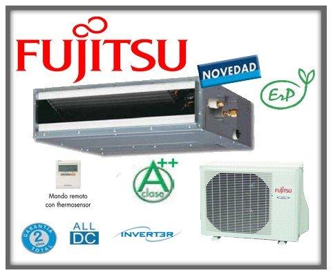 Equipo de aire acondicionado modelo 2013 con bomba fr�o/calor, bajo nivel sonoro. Equipo inverter. Calidad/precio excepcional. Fujitsu Conductos