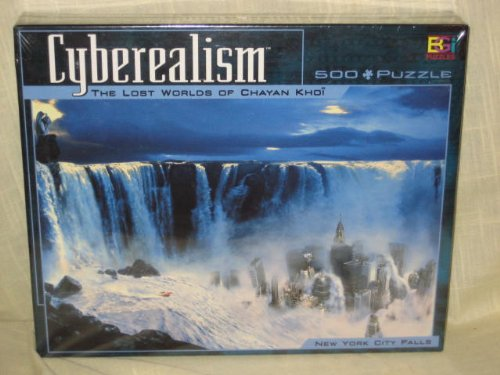 Cyberealism - The Lost World Of Chayan Knoi - 500 Piece Jigsaw Puzzle