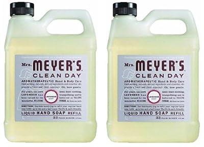 Earth Friendly, Mrs. Meyers Liquid Hand Soap Refill 33 Oz Lavender Scent