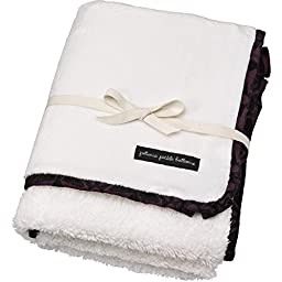 Petunia Pickle Bottom Receiving Blanket, Evening Plum