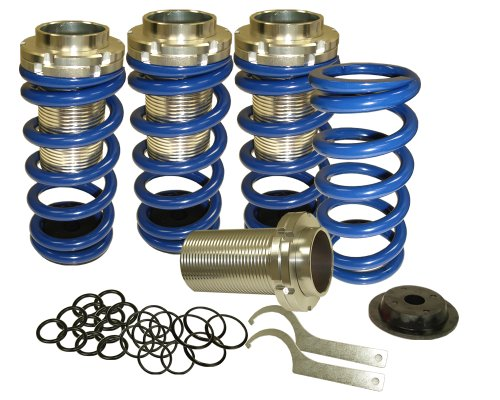 88-00 Honda Civic Coilover Lowering Spring Kit - BLUE (1988 1989 1990 1991 1992 1993 1994 1995 1996 1997 1998 1999 2000 89 90 91 92 93 94 95 96 97 9