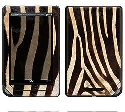Barnes & Noble Nook Color Decal Skin - Zebra Print
