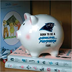 Carolina Panthers Memory Company Born to Be Piggy Bank NFL Football Fan Shop Sports Team Merchandise