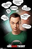The Big Bang Theory Poster Quotes Zitate - Poster Großformat