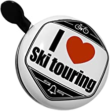 Bicycle Bell I Love ski touring by NEONBLOND