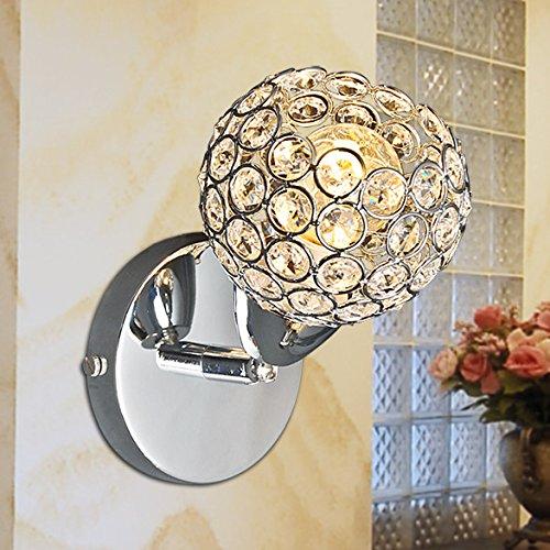 Moderne cristal de la mode minimaliste Lampe de chevet mur