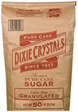Dixie Crystals Pure Cane Extra Fine Sugar - 50 lb