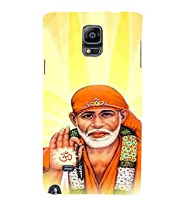 Ebby Premium Printed Mobile Back Case Cover With Full protection For Samsung Galaxy Note 4 (Designer Case)