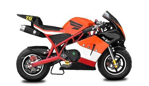 49cc Pocketbike PS50 Rocket Sport Tuning Kupplung 15mm Vergaser (Rot) -