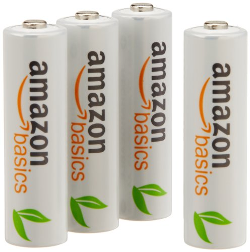 Amazonから充電池!「Amazonベーシック 充電式ニッケル水素電池」単3(1900mAh)&単4(750mAh)