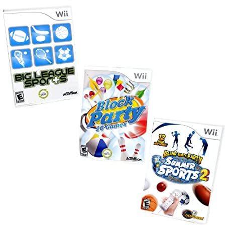 Wii Family Party Game Bundle