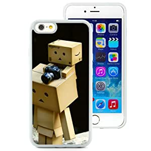 6 Phone cases, Danboard Cardboard Robots Cameras White iPhone 6 4.7 inch TPU cell phone case