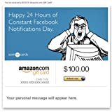 Amazon Gift Card - E-mail - Birthday (Constant Notifications) [Someecards]