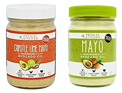 Primal Kitchen - Mayo Combo Pack (Original and Chipotle Lime) 12 fl.oz each from Primal Kitchen