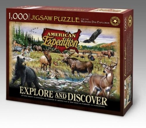 American Expedition Wildlife Jigsaw Puzzle