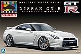 1/24 プリペイントモデルシリーズNo.30 NISSAN GT-R (R35) ピュアエディション 2012年モデル ( ブリリアント ホワイト パール)