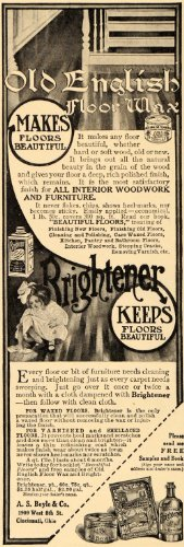1910-ad-boyle-old-english-floor-wax-brightener-home-original-print-ad