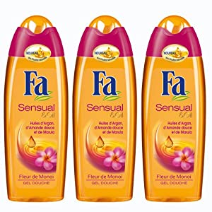 Fa  Sensual & Oil Fleur de Monoi  Flacon 250 ml - Lot de 3