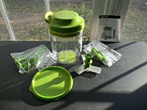 Tupperware Smooth Chopper in the New Green Color Limited Edition