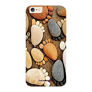 HomeSoGood Stone Feet Multicolor 3D Mobile Case For iPhone 6 Plus (Back Cover)