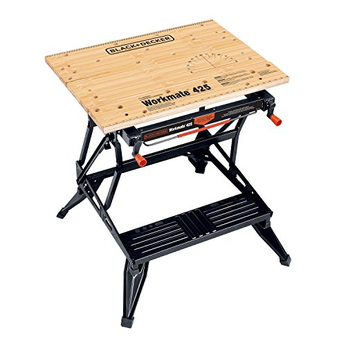 Black & Decker WM425 Workmate 425 550-Pound Capacity Portable Work Bench (Black And Decker Work Table compare prices)