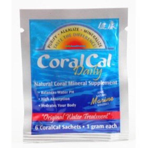6 Sets Coralcal Daily Sachets 30-Silver Foil Pks (180 Sachets Total)