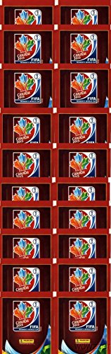 20 (TWENTY) Packs of 2015 Panini FIFA Women's World Cup Soccer Canada Factory Sealed Sticker Packs!
