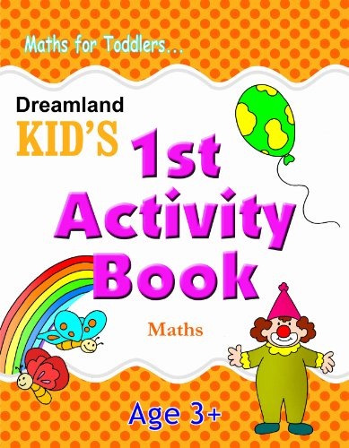 1st Activity Book - Maths (Kid's Activity Books) Image