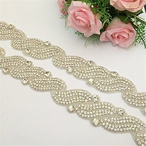 Rhinestone-Applique-Crystal-Applique-for-Bridal-Sash-best-seller-Applique-trim-Hot-Sale-Applique-Accessories-1-yard