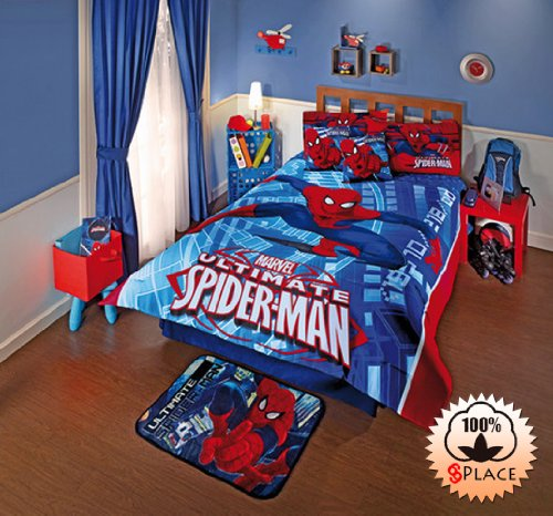 Spiderman Twin Comforter front-1080676