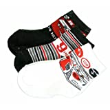 Disney Pixar Boys Pixar Cars 2 Assorted Quarter Socks (3 Pair)