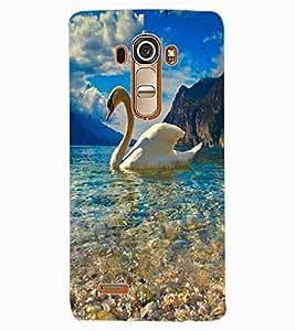 ColourCraft Lovely Duck Design Back Case Cover for LG G4