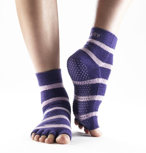 Yoga-Mad Half Toesox
