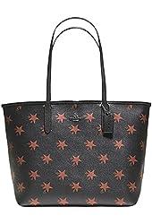 Coach Star City Brown/Multi Handbag Limited Edition BLACK/BROWN MULTI Tote Bag