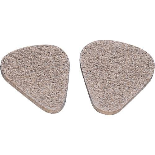 Jim Dunlop 8012 Felt Picks, 12 Pack