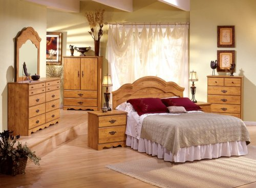 Cheap Kids Bedroom Furniture Set in Country Pine – South Shore Furniture – 3232-BSET-1 (3232-BSET-1)
