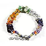Urancia™ Beautiful Navratna Gemstone Bracelet Best Quality Nine Gems With Free Himalayan Quartz Crystal