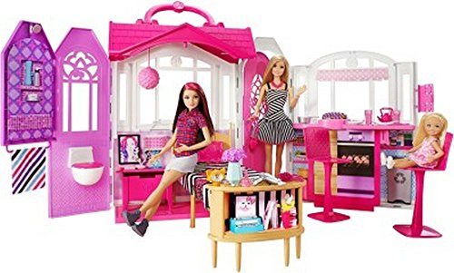 Barbie Glam Gateway House with Doll, Pink (Glam House compare prices)