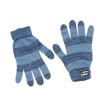 Navy Dominate Gloves by Billabong
